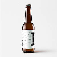 "Пиво ""Stout I"" темне нефільтроване непастеризоване 0.33л"