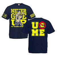 "Футболка ""John Cena 2013 (Джон Сина) 10 Years Strong"""