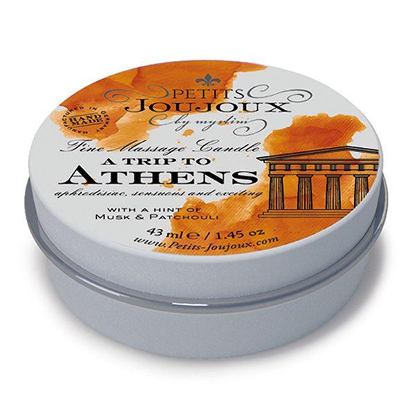Массажная свечa Petits Joujoux - Athens - Musk and Patchouli (43 мл) с афродизиаками