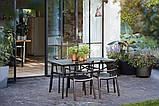 Стул садовый уличный Keter Metalix Armrest, фото 2