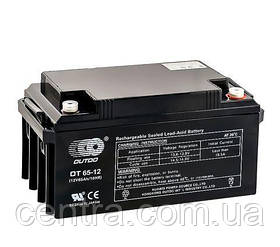 Гелевый аккумулятор OUTDO 12V-65Ah (12V65Ah/20HR) OT 65-12