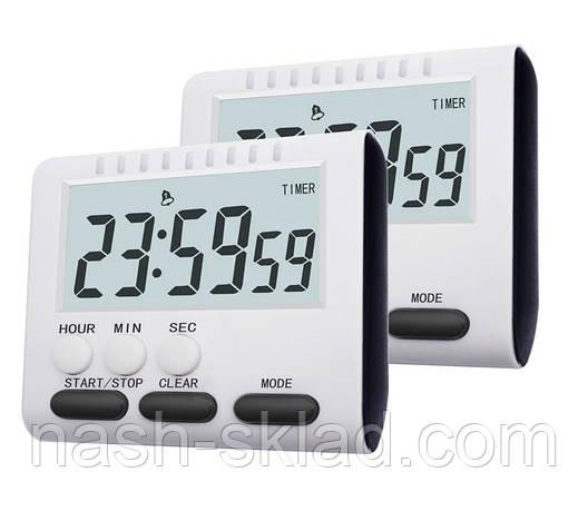 Цифровой кухонный таймер   3 в 1 Aihogard черные кнопки, фото 2