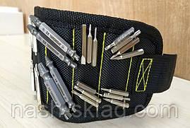 🔧 🔩 Браслет магнитный для инструмента , браслет строительный 5 магнитов, фото 2