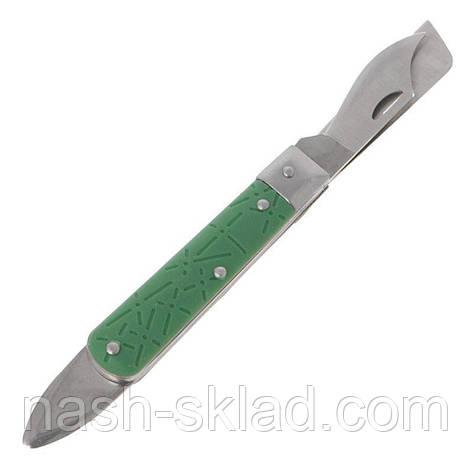 Нож садовый прививочный 3 в 1, фото 2