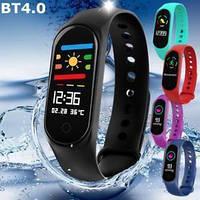 Фитнес-часы М3, смарт браслет smart watch, аналог mi band 3, треккер, сенсорные фитнес часы