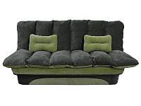 Раскладной диван Леонора с накидкой-одеялом. Прямой диван