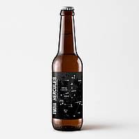 "Пиво ""Hercules"" темне нефільтроване непастеризоване 0,33л"