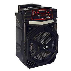 Портативная аккумуляторная Bluetooth колонкаQ8L X15705 с микрофоном