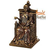Статуэтка богиня фортуна на троне Veronese 27 см