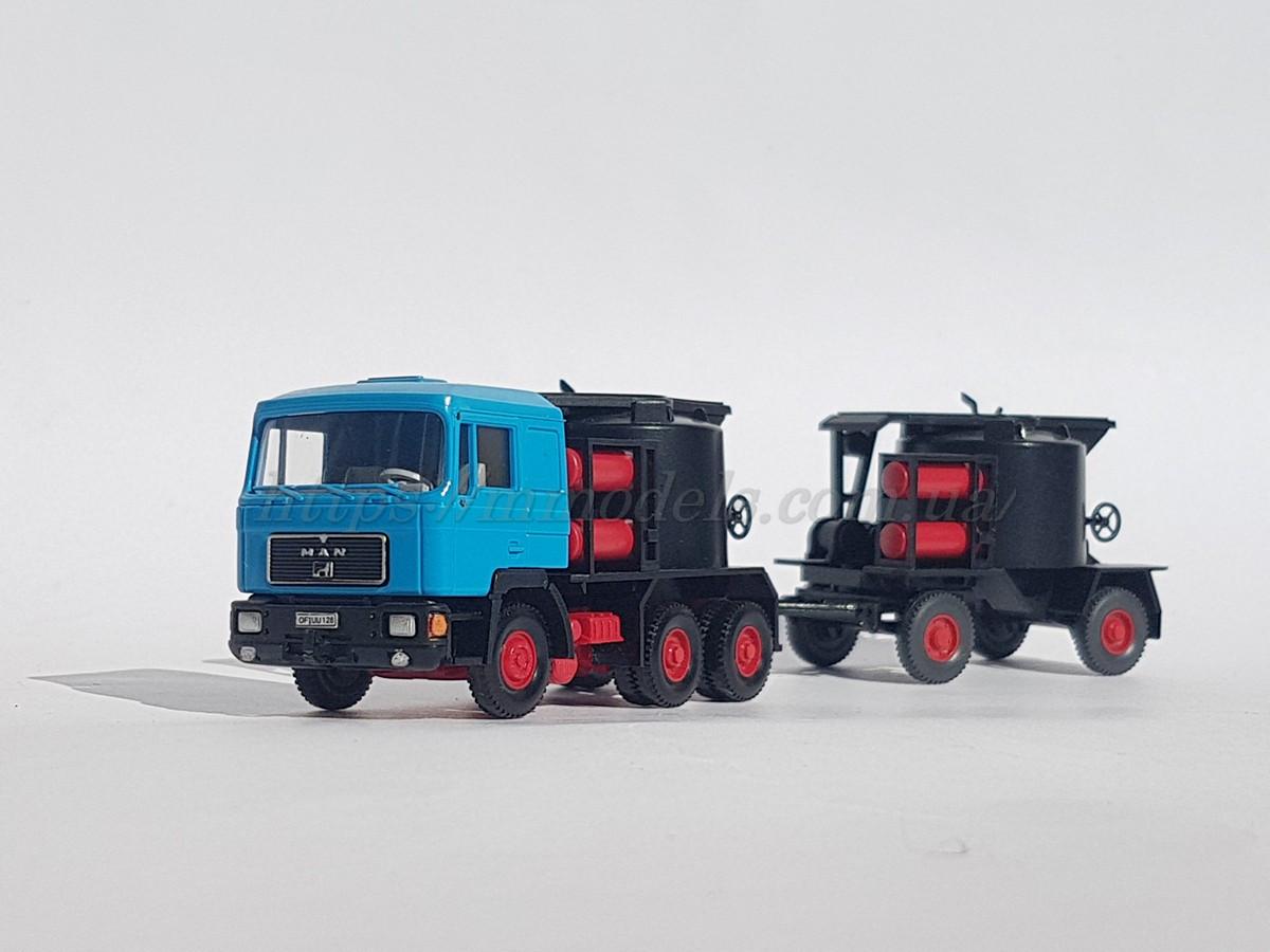 Wiking масштабная модель автомобиля MAN Teerkocher со спец оборудованием, масштаба 1/87, H0