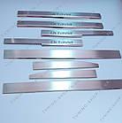 Накладки на пороги Skoda Octavia A5 2004-2013 ( комплект 8 шт ), Premium, фото 3