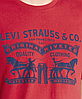 Мужская футболка Levis®  Classic Graphic Tee - Crimson 2 Horse Pull, фото 2