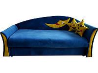 Детский не раскладной диван Лунный свет с подушками