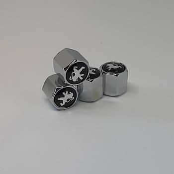 Колпачки на ниппеля Peugeot (4шт)