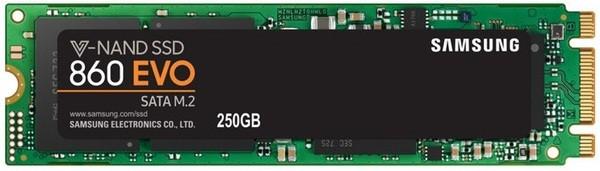SSD-накопитель Samsung M.2 2280  250GB