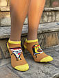 Женские носки стрейчевые Montebello разный принт на правой и левой ноге 35-40 12 шт в уп микс 3 цветов, фото 3