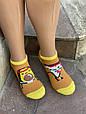 Женские носки стрейчевые Montebello разный принт на правой и левой ноге 35-40 12 шт в уп микс 3 цветов, фото 4