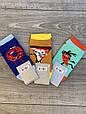 Женские носки стрейчевые Montebello разный принт на правой и левой ноге 35-40 12 шт в уп микс 3 цветов, фото 2