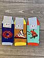 Женские носки стрейчевые Montebello разный принт на правой и левой ноге 35-40 12 шт в уп микс 3 цветов, фото 9