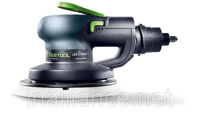 Пневматическая эксцентриковая шлифовальная машинка LEX 3 150/5 Festool 575081
