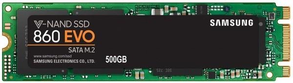 SSD-накопитель Samsung M.2 2280  500GB