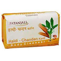 Мыло с экстрактом Куркумы и Сандала, 150 г, Патанджали; Haldi Chandan Soap, 150 g, Patanjali