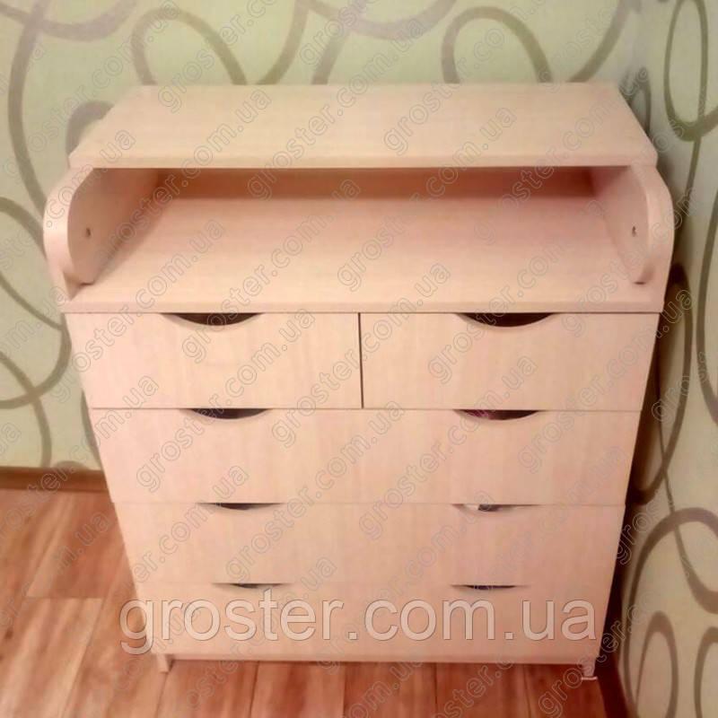 Комод-пеленатор для детской. Пеленальный столик