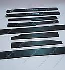 Накладки на пороги Skoda Octavia A5 2004-2013 ( комплект 8 шт ), карбон, фото 6