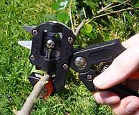 🔥Прививочный секатор Professional Grafting Tool, 3 лезвия  + сменный упорный бачок 🌳, фото 1