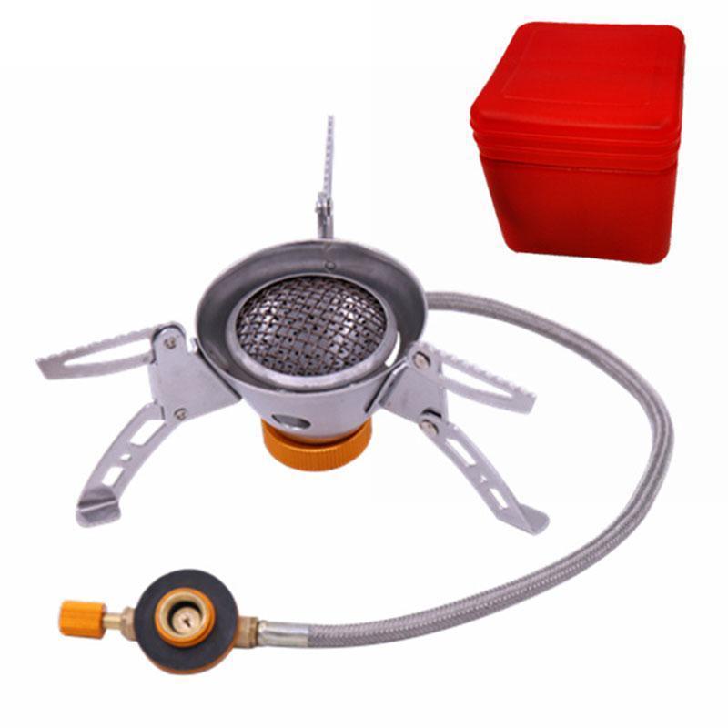 Портативная газовая горелка ветрозащитная HobbyLane zyzy-75