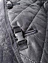 Накидки, авточехлы на сидения автомобиля Алькантара стиль, Черные, задний комплект стандарт, фото 3