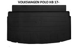 Коврик в багажник резиновый Stingray VOLKSWAGEN POLO HB 2017