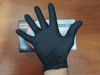 Перчатки Профессиональные нитриловые черные, Упаковка 100штук, КАЧЕСТВО, фото 1