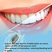Sarmocare S100 Sonic Electric Toothbrush White Звуковая электрическая зубная щетка, фото 6