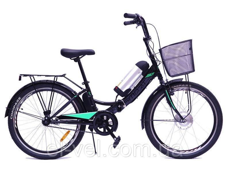 Электровелосипед складной Smart 24″ 36В 350Вт 10,4Ач с LCD