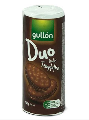 Печиво GULLON Duo, сендвіч темний з шоколадним кремом, 165г, фото 2