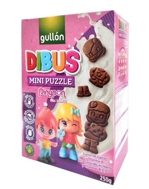 Печиво GULLON Dibus Mini PinyPon, 250г