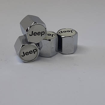 Колпачки на ниппеля Jeep (4шт)