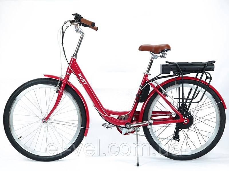 Электровелосипед Ruby 26″ 36В 350Вт 12,8Ач