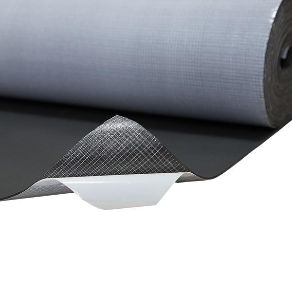 Вспененный каучук  RC с клеем 6 мм