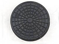 Люк канализационный 315 мм чёрный