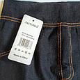 Лосины безшовные под джинс черные размер 44-48, фото 5