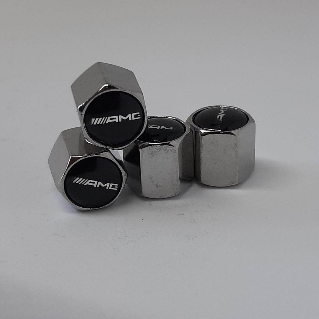 Колпачки на ниппеля AMG (4шт)