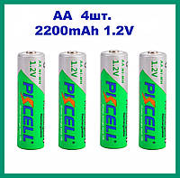 PKCELL аккумулятор AA 1,2 V 2200 mAh (4 штуки) Ni-MH
