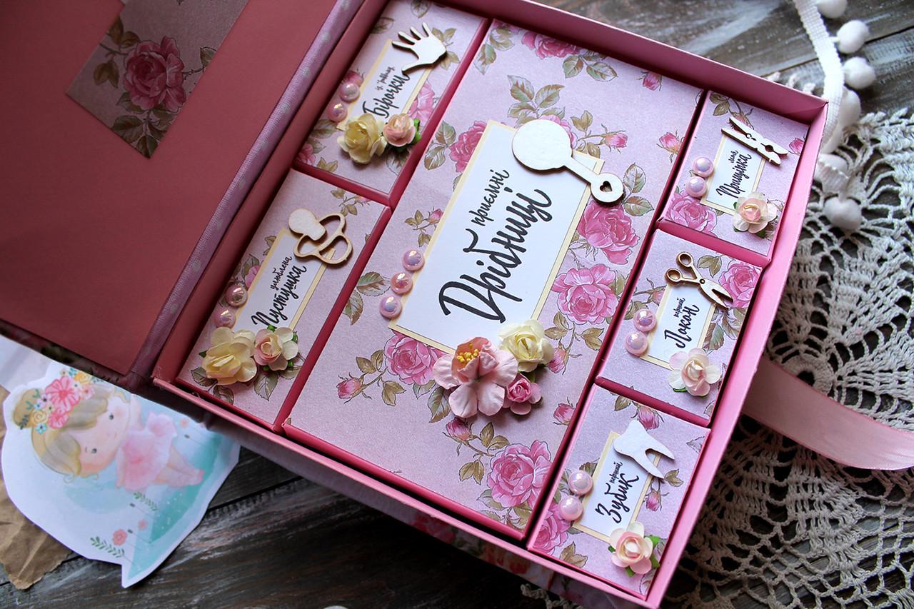 Мамины Сокровища для девочки. Подарок на выписку. Подарок на крестины. Подарок молодым родителям