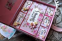 Мамины Сокровища для девочки. Подарок на выписку. Подарок на крестины. Подарок молодым родителям, фото 1