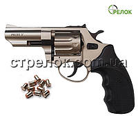 "Револьвер под патрон Флобера Profi 3"" сатин пластик"