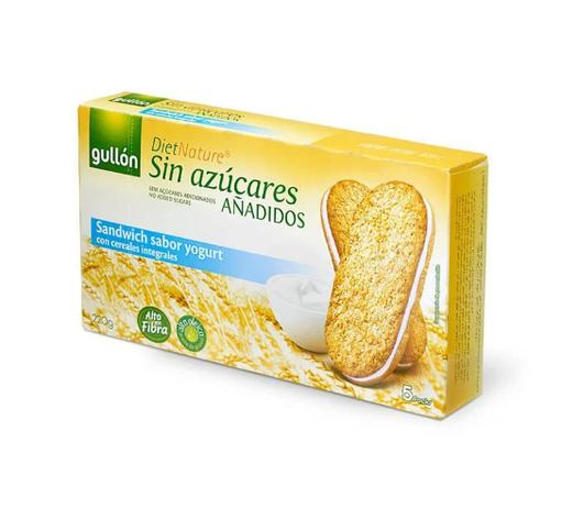 Печиво GULLON  без цукру сендвіч з йогуртом Diet nature, 220г, фото 2