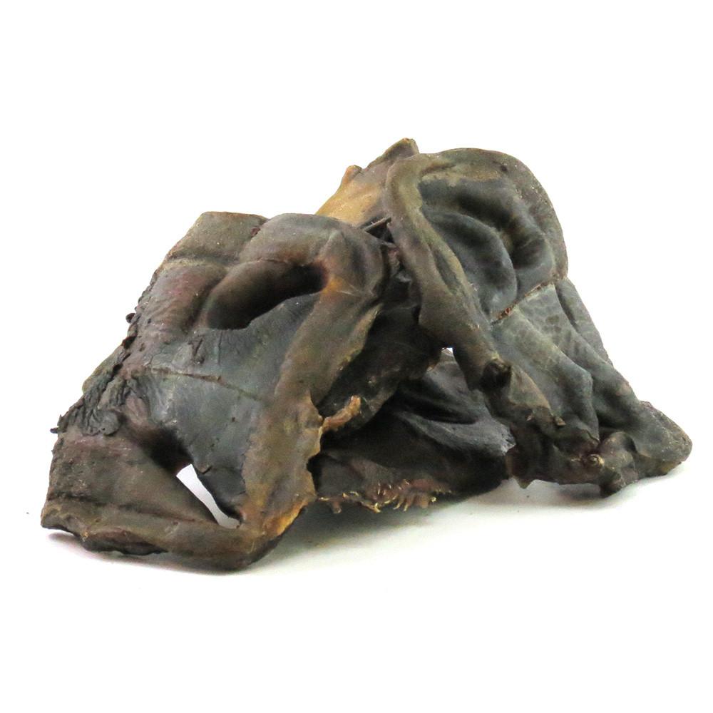 Лакомство для собак телячий нос сушеный 1 шт