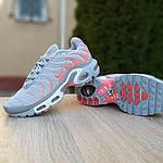 Женские кроссовки Nike TN Plus РЕФЛЕКТИВ (серые) 20025, фото 4